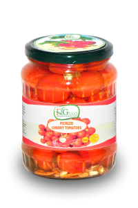 Pickled cherry tomatoes in jar 540ml