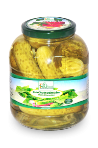 Pickled cucumber in jar 1500ml