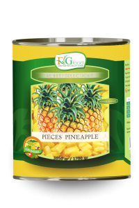 Pineapple pieces in can A10/3Kg