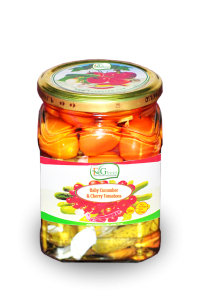 Assorted pickled in jar 500ml
