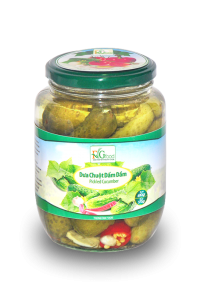 Pickled cucumber in jar 540ml