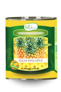 Pineapple slices in can A10/3Kg