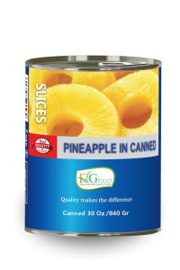 Pineapple slices in can 30 Oz