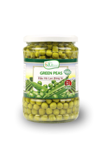 Green peas in jar 540ml