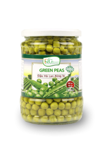 Green peas in jar 720ml