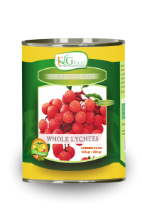 Canned lychees in syrup 20 Oz