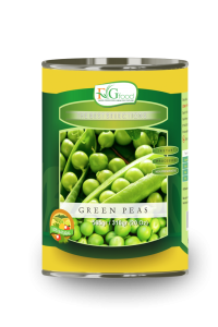 Green peas in can 20 Oz